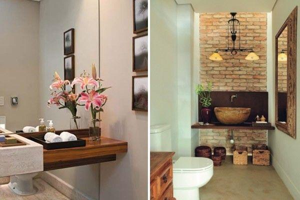 decoracao de lavabo para o natal:Dicas para decorar o lavabo – Dicas de Mulher