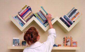 Como guardar e organizar seus livros