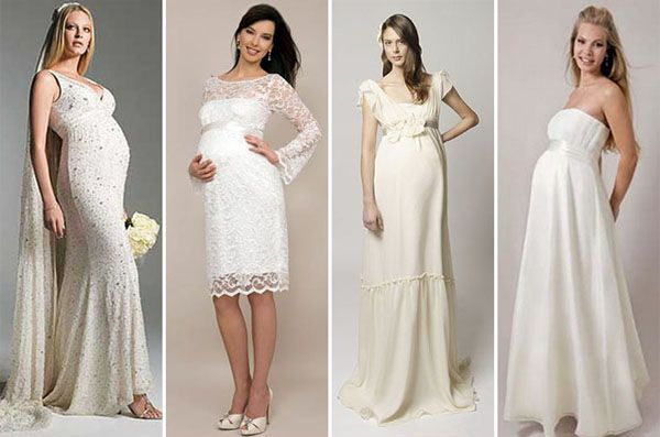 Lola Veste Festa Vestido De Noiva Para Gestantes