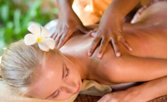 Massagem havaiana