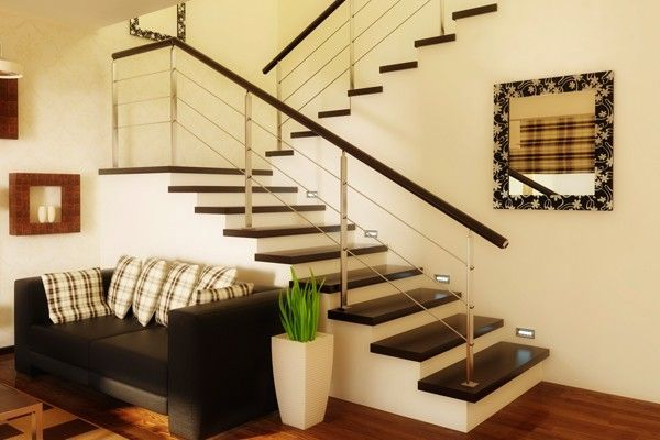 Escadas na decora o dicas de mulher for Salas con escaleras