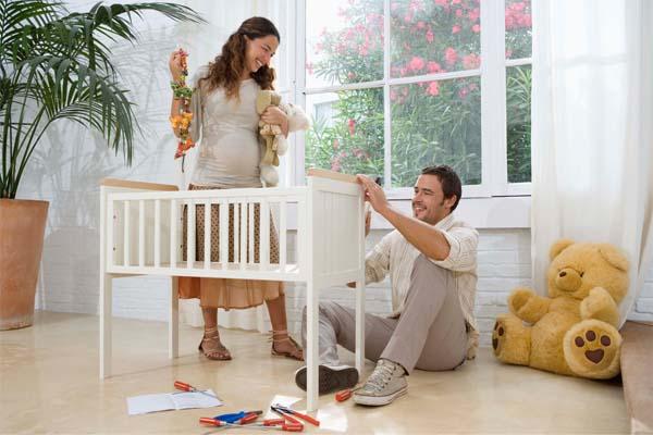 como ter um quarto de beb lindo e organizado dicas de. Black Bedroom Furniture Sets. Home Design Ideas