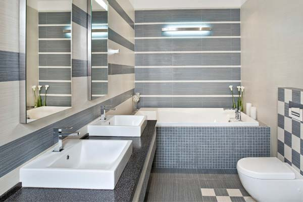 Conheça os diferentes tipos de revestimentos para banheiro  Dicas de Mulher -> Orcamento Banheiro Simples
