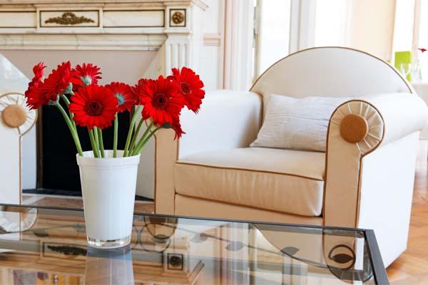decoracao flores casa Como decorar a casa com flores.