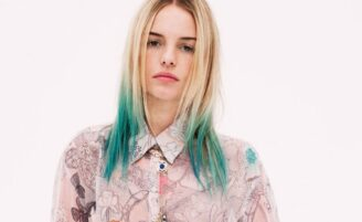 Dip-dye hair: cabelo com mechas coloridas