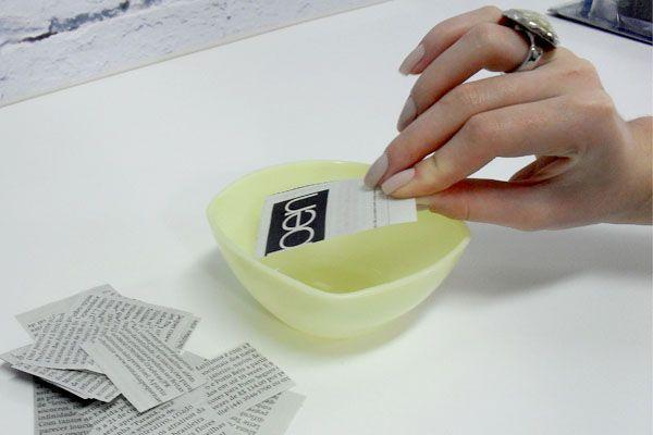 4 provador unhas jornal Aprenda a fazer as unhas de jornal