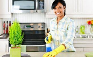 Alergia a produtos de limpeza