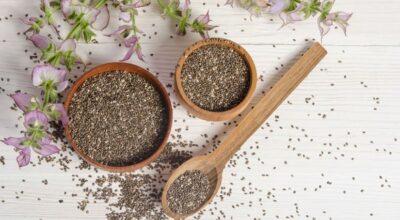Chia: a semente cheia de nutrientes que sacia e possui ação anti-inflamatória