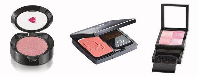 Rosinha por R$35,90 na QDB | Dior Rose Cherie por R$217 na Sépha | Givenchy Le Prisme Éclat Couler por R$179 na Sephora