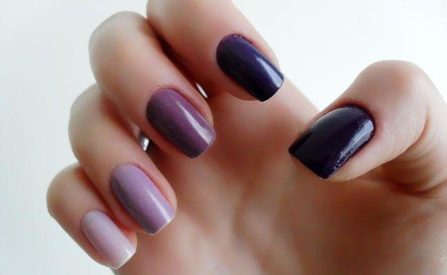 Gradient naglar - Kvinnor Tips