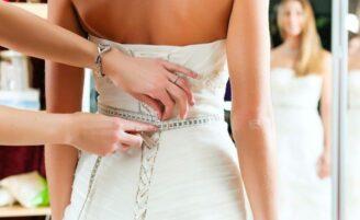 O vestido de noiva ideal para cada tipo de corpo