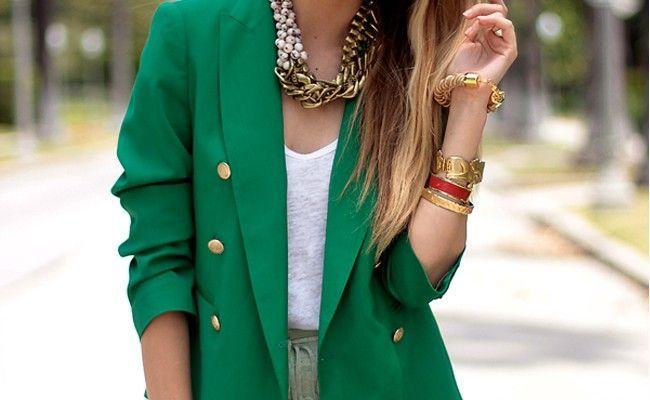 blazer colorido1 A moda do blazer colorido