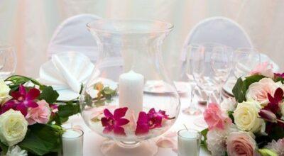 7 ideias diferentes de centro de mesa para casamentos