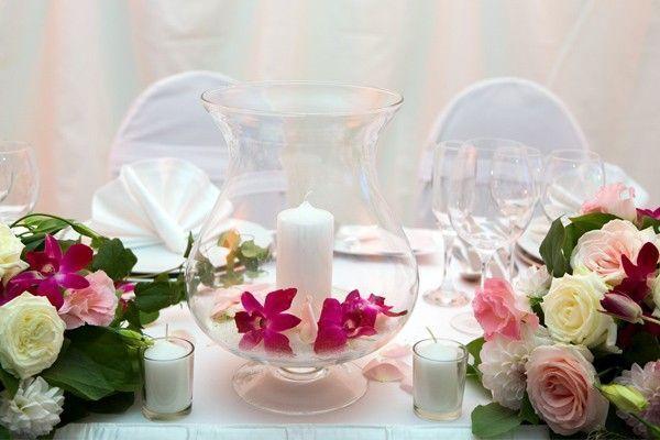 7 ideias diferentes de centro de mesa para casamentos Dicas de Mulher -> Enfeites De Mesa De Casamento Simples E Barato