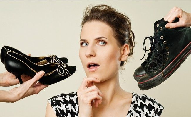 como combinar modelo sapato roupa1 Como combinar modelo de sapato com a roupa