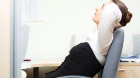 A importância da postura no local de trabalho