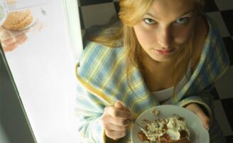 Tristeza e o comportamento alimentar
