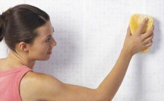 Como limpar paredes e tetos