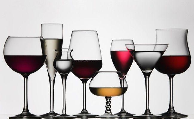 diferentes tipos tacas1 Conheça o tipo de taça ideal para cada bebida