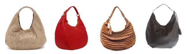hobo Tipos de bolsas femininas