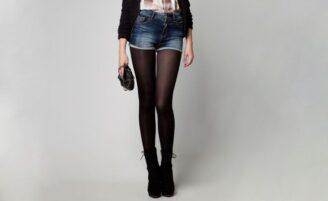 Meia-calça preta é peça-chave para os dias frios