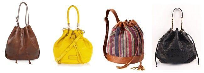 saco Tipos de bolsas femininas