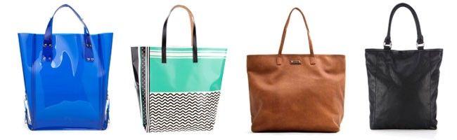 shopper Tipos de bolsas femininas