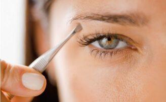 Tipos de pinças para sobrancelhas