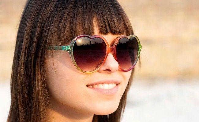 modelo oculos franjas O modelo de óculos ideal para quem tem franja