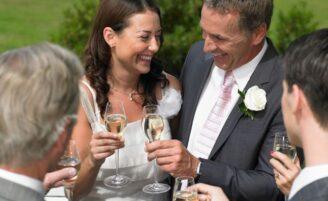 Sugestões de comemoração para casamento civil