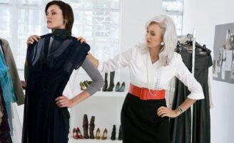 Truques de moda para mulheres altas