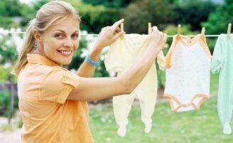 Cuidados com a secagem das roupas