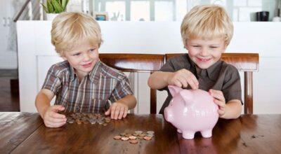 Dinheiro também é coisa de criança