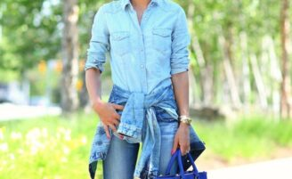 Looks total jeans: como fazer combinações interessantes