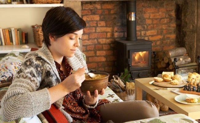 o prazer de comer no inverno O prazer de comer no inverno pode ser desencadeado pelo emocional