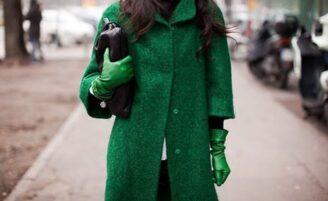 Tendência: verde-esmeralda
