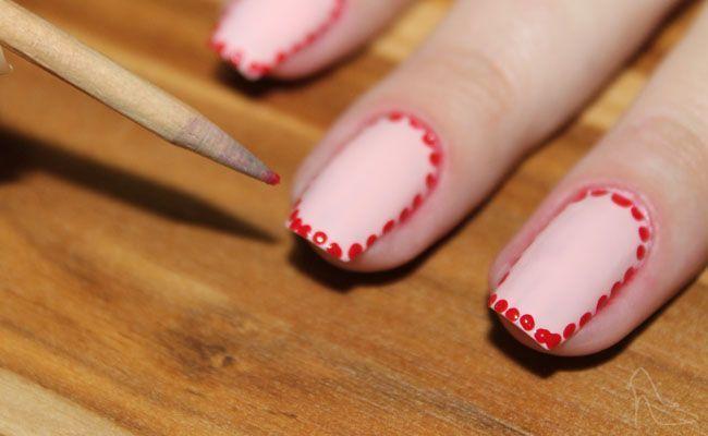 border nail passo 2 Conheça as border nails: unhas decoradas com borda