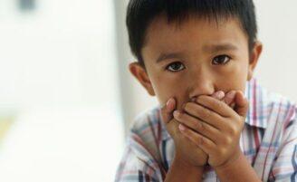 O que fazer quando a criança diz um palavrão?