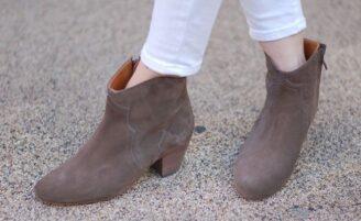 Dicker boots: o novo hit de Isabel Marant