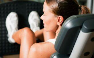 Exercícios de academia para tonificar as pernas