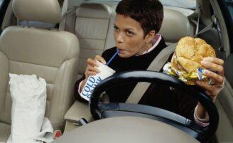 Vida agitada versus alimentação saudável