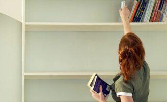 5 dicas para organizar livros