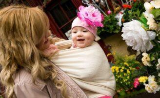 Sling: praticidade para a mãe e conforto para o bebê