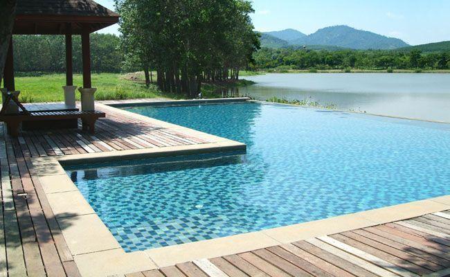 Como escolher o material adequado para seu deck dicas de for Material de piscina
