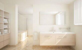 Como manter o banheiro organizado