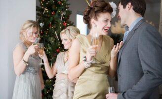 Festas de final de ano com a família dele e sem crise