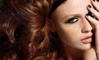 Maquiagem para peles com sarda