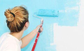 Passo-a-passo de como pintar paredes