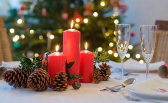 Como decorar a mesa para o Natal sem gastar muito