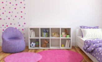Checklist de organização do quarto das crianças